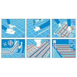 Termostat analogic TP 510 pentru incalzire in pardoseala