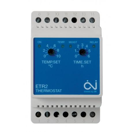 Termostat analogic ETR2-1550 pentru temperatura si umiditate