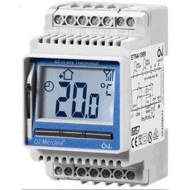 Termostat  digital ETN4-1999 montare pe sina DIN